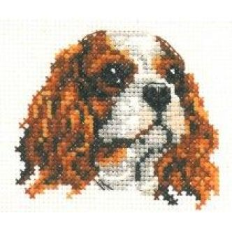 Embroidered King Charles Spaniel