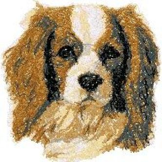 Spaniel Embroidery