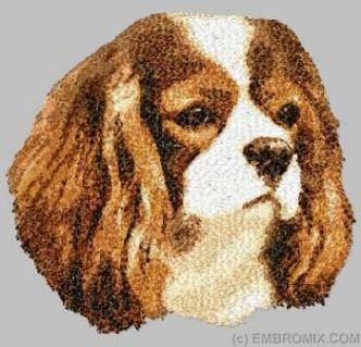 Embroidered Cavalier King Charles Spaniel